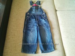 джинсовый комбинезон HM
