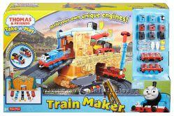 Железная дорога Томас и его друзья Фабрика локомотивов Фишер Прайс