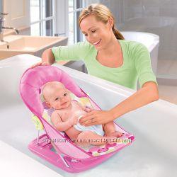 Лежак шезлонг для купания Summer Infant Deluxe Baby Bather с подголовником