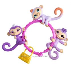 Браслет с мини-обезьянками WowWee Fingerlings