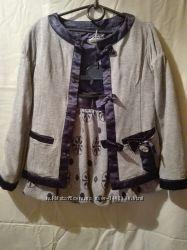 Пиджак, юбка итальянских фирм