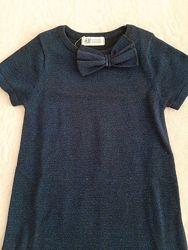 Платье H&M на 4-6 лет
