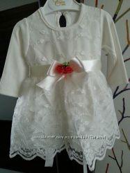 Новое нарядное платье для малышки
