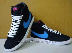 Кроссовки, замшевые,  Nike  , Original
