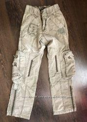 Штаны джинсы фирмы Puledro  Италия  Размер 9-11 лет.