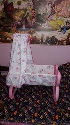 Колыбель Кроватка для куклы Baby Nurse Smoby 24015
