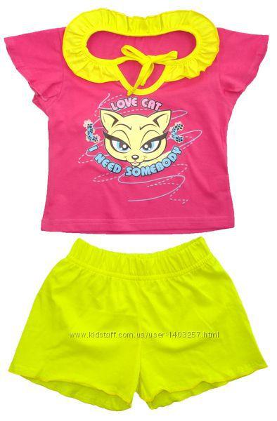 Пижама летняя детская для девочки