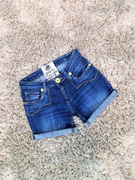 Джинсовые шорты с паетками Gloria Jeans, р. S-M