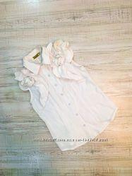 Белая блузка рубашка OLKO, р. S