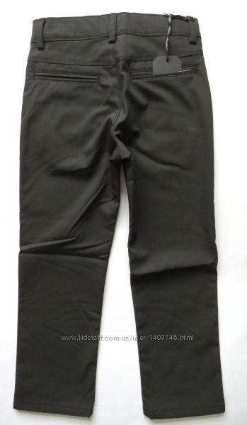 Теплые брюки на мальчика на флисе Vip Bonis 31 -180 380 680 для школы