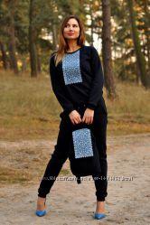 Комбинезон женский с вышивкой