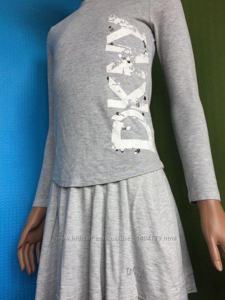 Комплект трикотажный футболка DKNY с юбкой