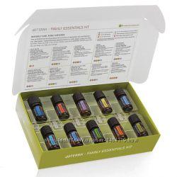 Семейный набор Домашняя аптечка смеси и чистые эфирные масла doTERRA США