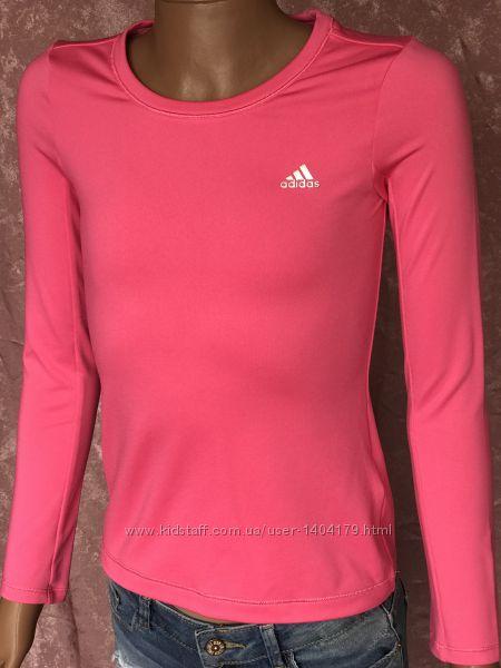 Pink Компрессионная кофта Adidas Climawarm оригинал девочке 9-10