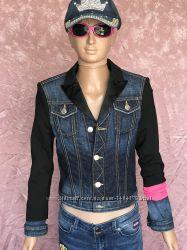 Джинсовый пиджак от кутюр куртка Dsquared2 оригинал девочке 10 лет