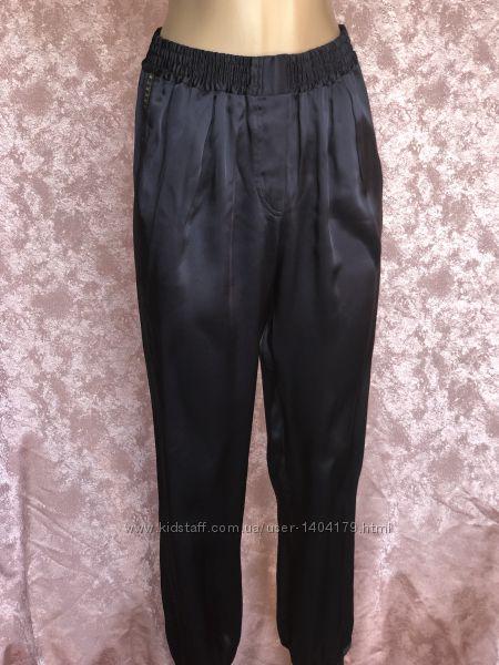 Стильные атласные брюки LANVIN оригинал 38 размер