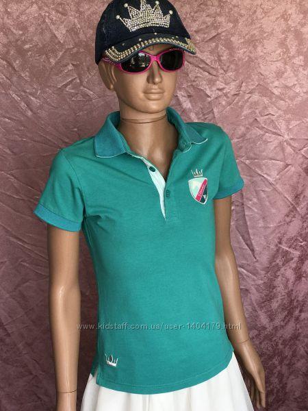 Green футболка поло конный спорт STEEDS оригинал 12 р