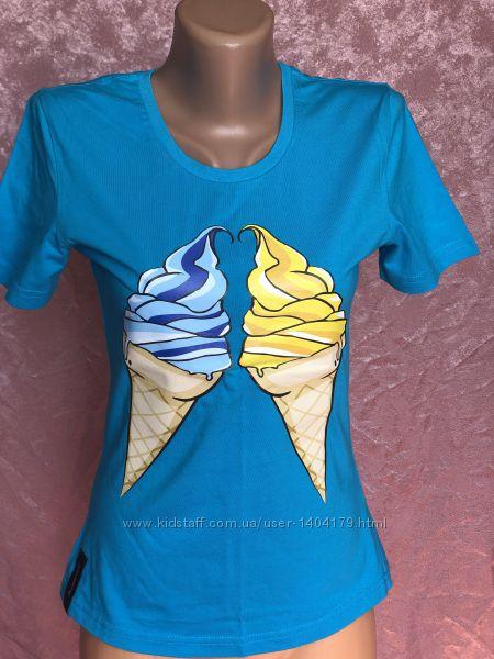 New Яркая летняя хлопковая футболка GlobusPioner
