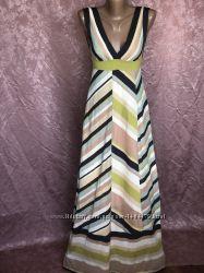 Трикотажный длинный сарафан платье в пол MISSONI Италия оригинал