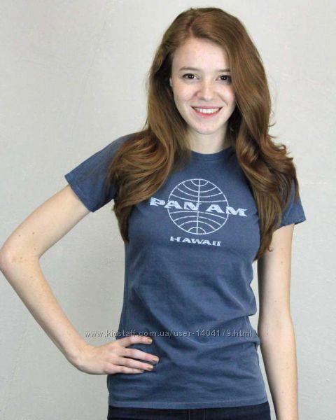 Blue женская футболка Malibu Shirts оригинал