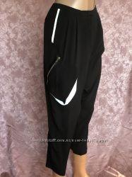 Black женские шелковые брюки капри бойфренды ICEBERG оригинал