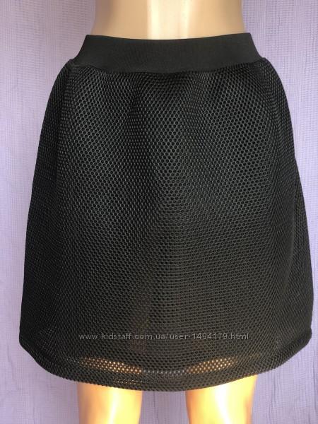 Black юбка сетка Alexander McQueen оригинал