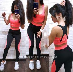 f8dd3d7a6693b костюм для фитнеса лосины топ спортивый комплект, 500 грн. Женские ...