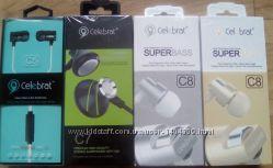 Наушники HF MP3 Celebrat C5, C6, C7, C8