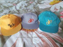 Новые детские кепки на лето тонкие на 2г 3г 4г 5 лет для мальчика и девочки