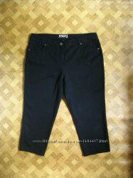 джинсовые чёрные бриджи капри Crop denim 46Eur  наш 52р
