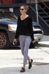 стильные укороченные штаны, брюки - Zara Trafaluc - XS - наш 38-40рр.