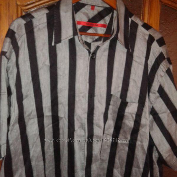 Фирменные  рубашки Marck& Spencer и другие 100 лен