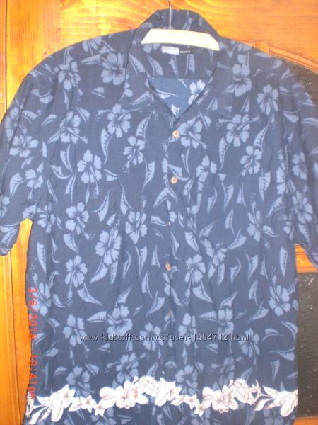 Фирменные летние рубашки с коротким рукавом