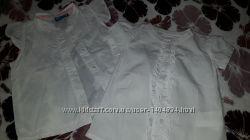Брендовые нарядные блузки - рубашки для девочки