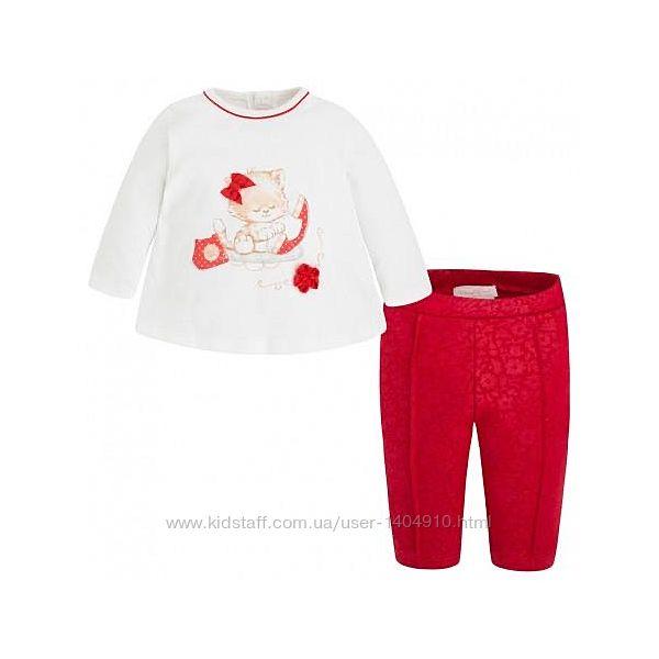 Платья костюмчики для новорожденных mayoral