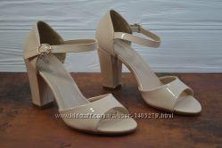 Женские босоножки туфли на каблуке Girnaive в 2-х цветах