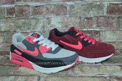 Женские кроссовки Nike Air Max 90 Leather Найк в 2-х цветах