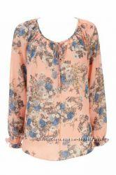 Wallis блузка с цветочным принтом 44 размер блузка 38 р