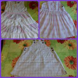 Платье летнее сарафан одежда в садик для девочки ромпер шортики