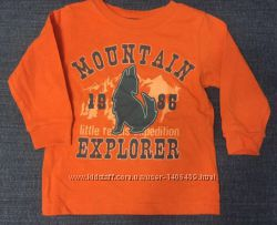 Кофта футболка топ реглан 1-2 года 80-92