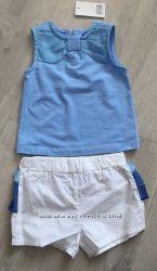 Летний нарядный костюм Original Marines H&M, Zara, Next шорты майка