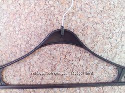 Тремпель с метал. крючком вешалки плечики