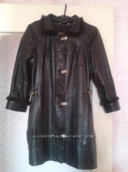 Кожаная куртка р. 42-44