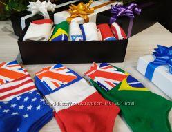 набор носков мужские World Cup - 6 шт в коробке