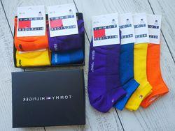 Tommy Hilfiger- cnильные снисекс носки