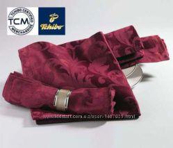 Жаккардовые салфетки с принтом 2 цвета от Тсм Tchibo 4 шт.