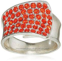 Кольцо с кристаллами Сваровски Pilgrim Дания элитная ювелирная бижутерия