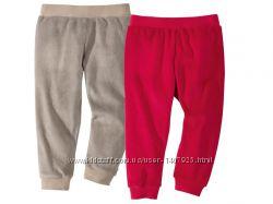Набор 2 шт велюровые штанишки на девочку р. 62, 68 Lupilu Германия