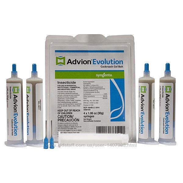 Яд от тараканов Advion Evolution gel  новинка