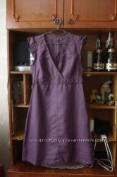 Mexx-16/44 р-. брендовое летнее платье-сарафан 100 лен